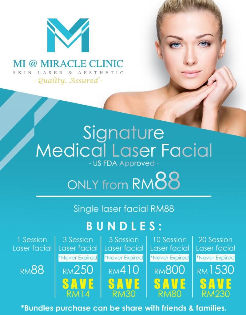 MI Clinic KK Laser Facial