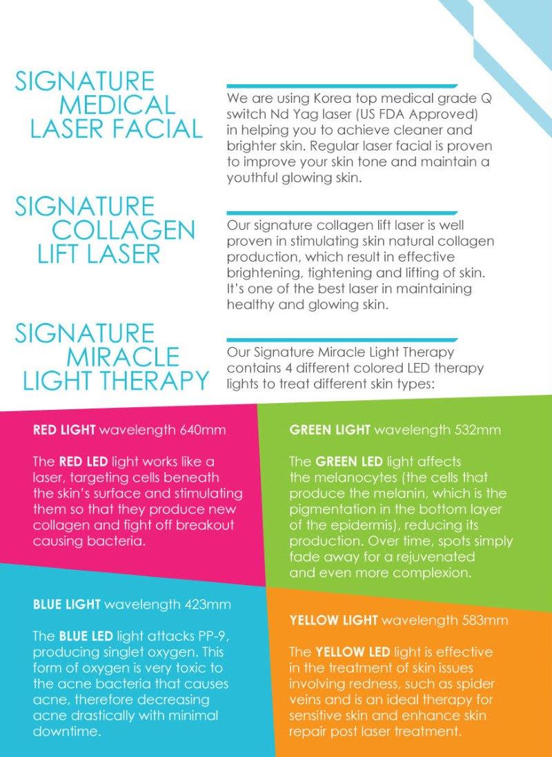 MI Clinic Laser Facial Treatment KK