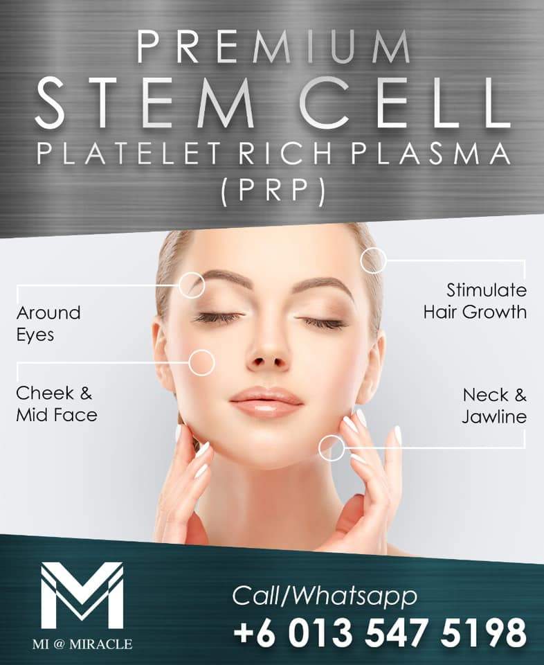 Miracle Laser Centre Acne Stem Cell PRP