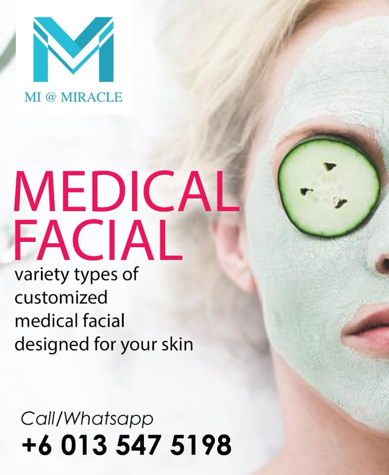 Miracle Laser Centre Medical Facial Banner