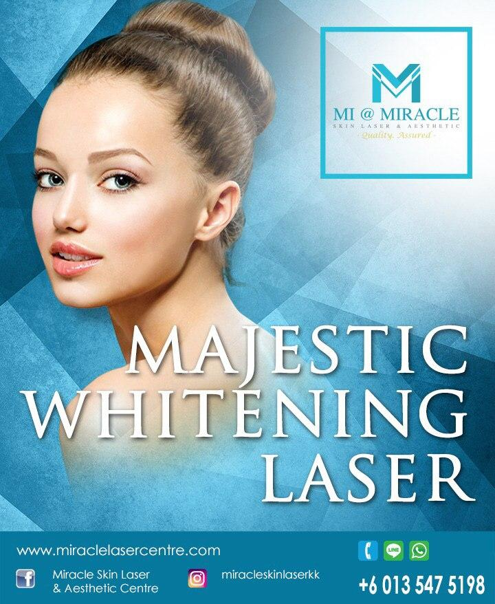 Miracle Laser Centre Majestic Whitening Laser