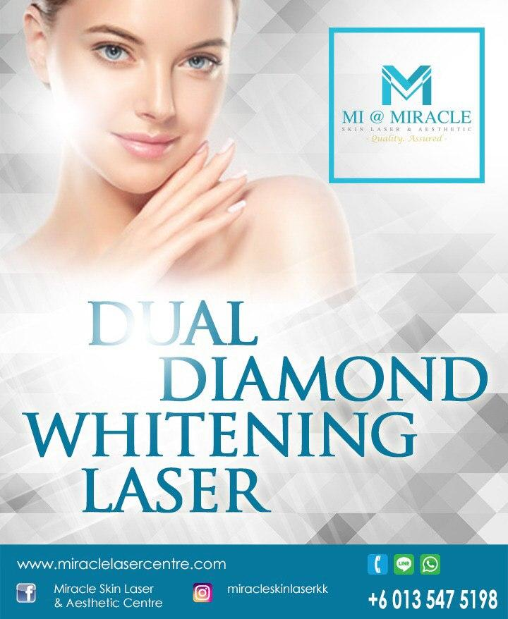Miracle Laser Centre Dual Diamond Whitening Laser