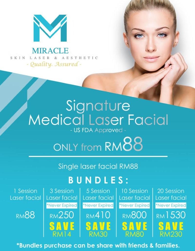 Miracle Laser Centre KK Laser Facial