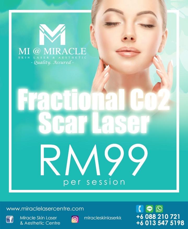 Scar Laser Facial MI Centre