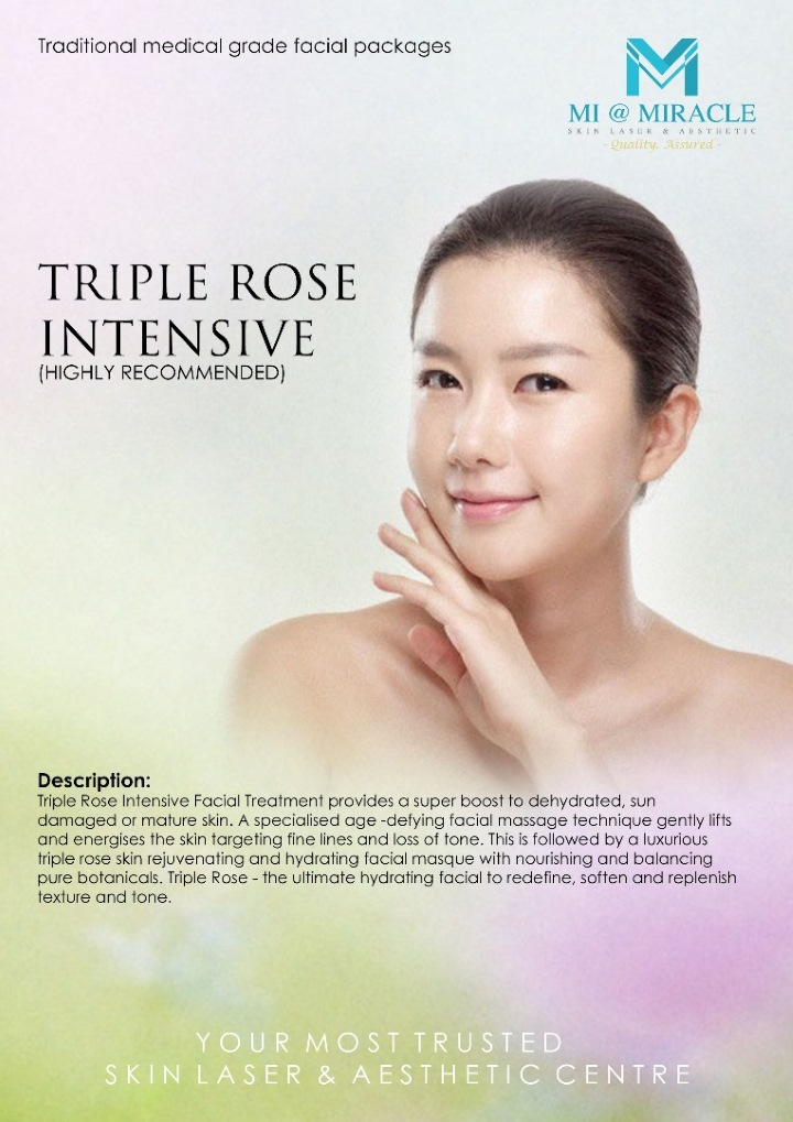 Triple Rose Intensive Facial Miracle Centre