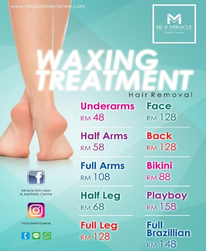 Waxing Treatment MI Centre KK