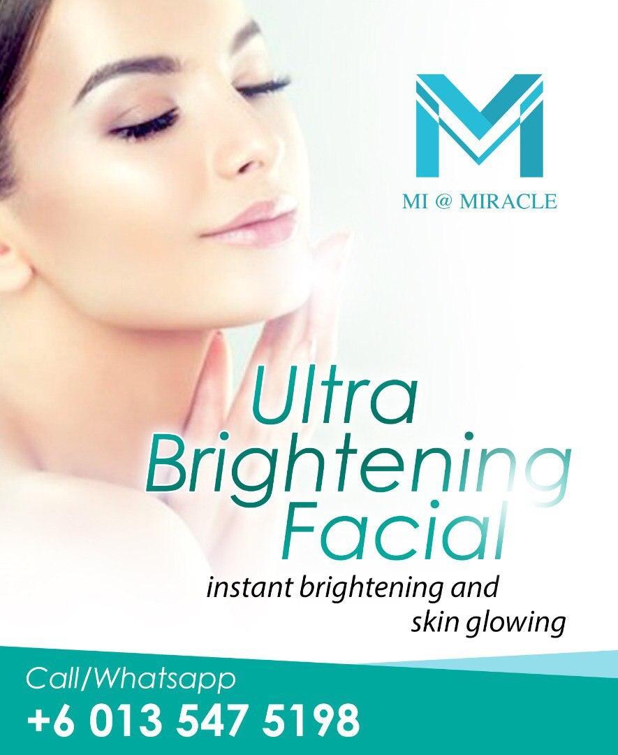 MI Ultimate Brightening Facial