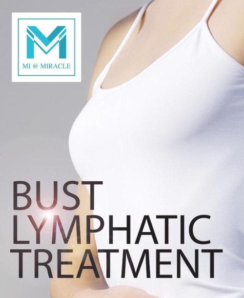 MI Bust Lymphatic Treatment